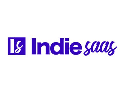Indie Saas Logo saas indie logo branding sideproject