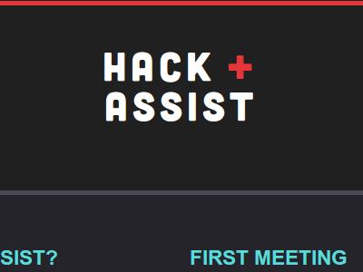 Hack Assist meetup hack assist