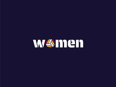 WOMEN flat design logo vector icon minimal web ui typography app