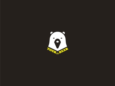 TOUR de BEAR illustration vector logo flat ui icon graphic design design typography app