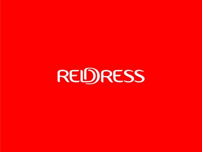 REDDRESS illustration vector logo minimal icon graphic design flat ui typography design