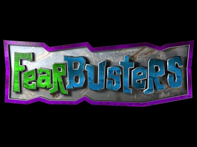 Fearbusters - Series Logo series kidspring fear cinema4d logo kidmin