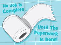 No Job Is Complete...