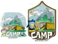 Camp Wannastay - Series Logo