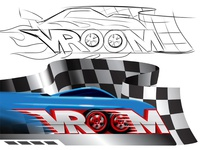 VROOM | Series Logo design