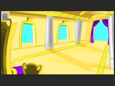 So much Gold, Beyonce must live here! kidmin kidspring neb bible story wip