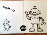 Inktober 2015 - Day 1 :: ROBOTS