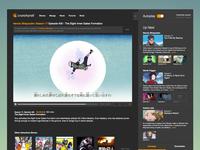 Dark Crunchyroll with Autoplay (concept)