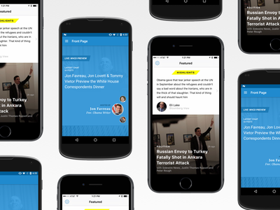 Sidewire for iOS and Android politics news app android ios sidewire