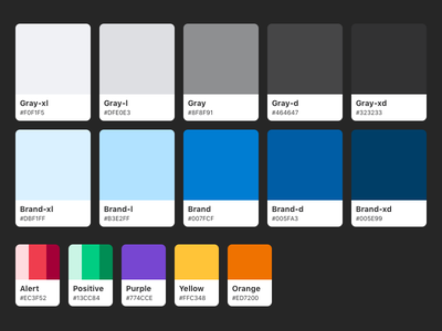 Sidewire Color Palette 4.0 color scheme color palette sidewire