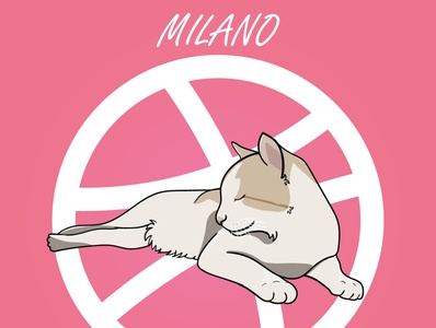 Milano 😸🐈 madrid pueblo illustration art illustrations illustrator catlovers catlover milano cats cat illustration