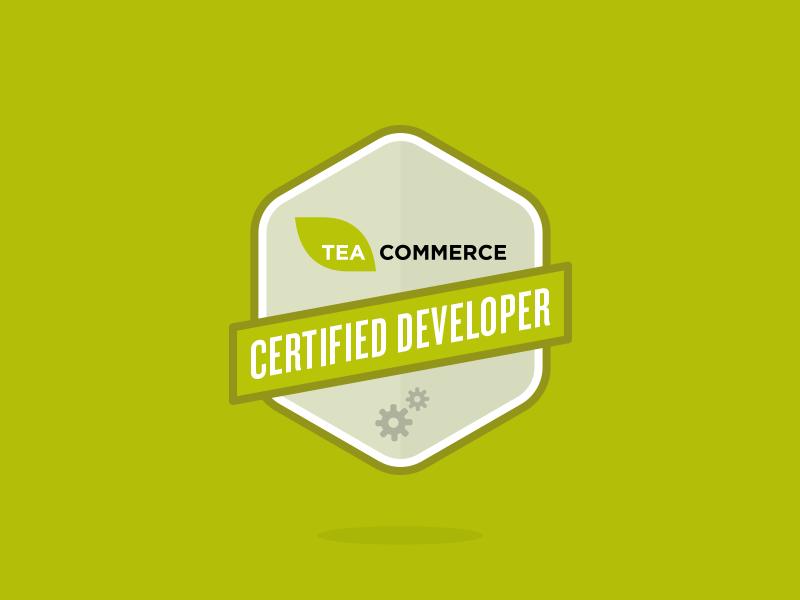 Badge work in progress badge logo mark ribbon green tea