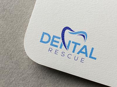 Dental Rescue Logo Design logos logo creation logo maker branding rescue vector teeth tooth dentista dentist dental logo design logo