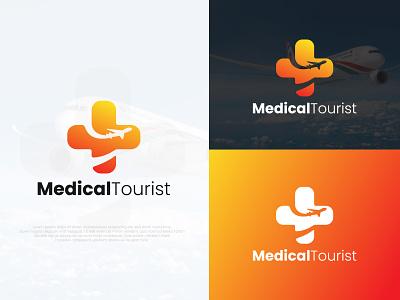 Medical Tourist Logo Design tourist aircraft