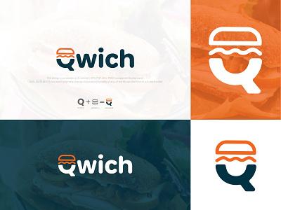 Qwich Logo Design cheese