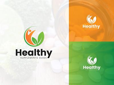 Health Supplements Logo herbal