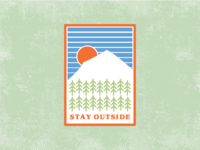 Stay Outside - Patch Concept