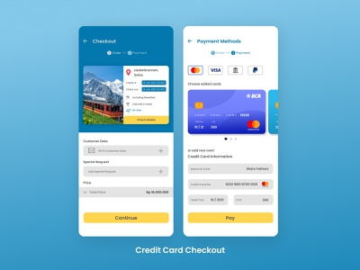 Credit Card Checkout checkout payment ui ux uxdesign uiux uidesign challenge dailyui app