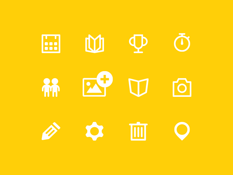 Sportivus - Icons app icons iconography set sports