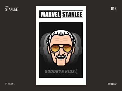 Stanlee - illustration