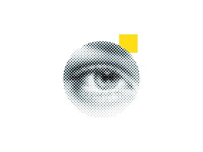 #FFDD17 minimal oregon portland creative tinj design eye