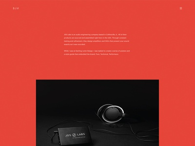 SJV new development design website
