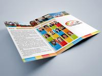Tri fold Brochure for Altai State University