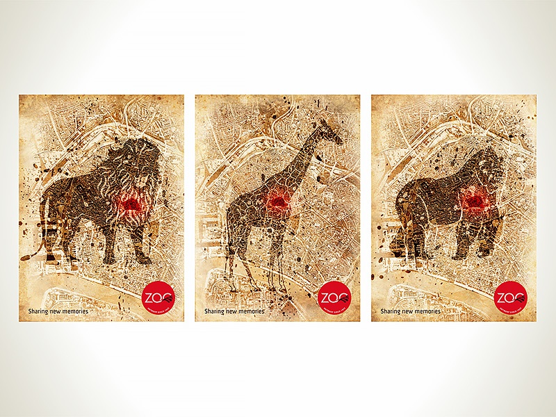 Print for Zoo Antwerpen printdesigner posterdesign visualdesign artwork posterdesigner visualidentity graphicdesigner graphicdesign design poster print printdesign