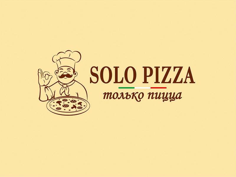 Branding for Solo Pizza branddesigner graphicdesigner logodesigner graphicdesign design corporatestyle brandidentity branding identity logo logodesign