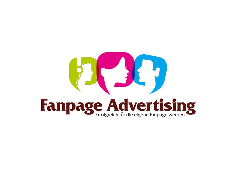 Logo for Fanpage Advertising branddesigner graphicdesigner logodesigner graphicdesign design corporatestyle brandidentity branding identity logo logodesign