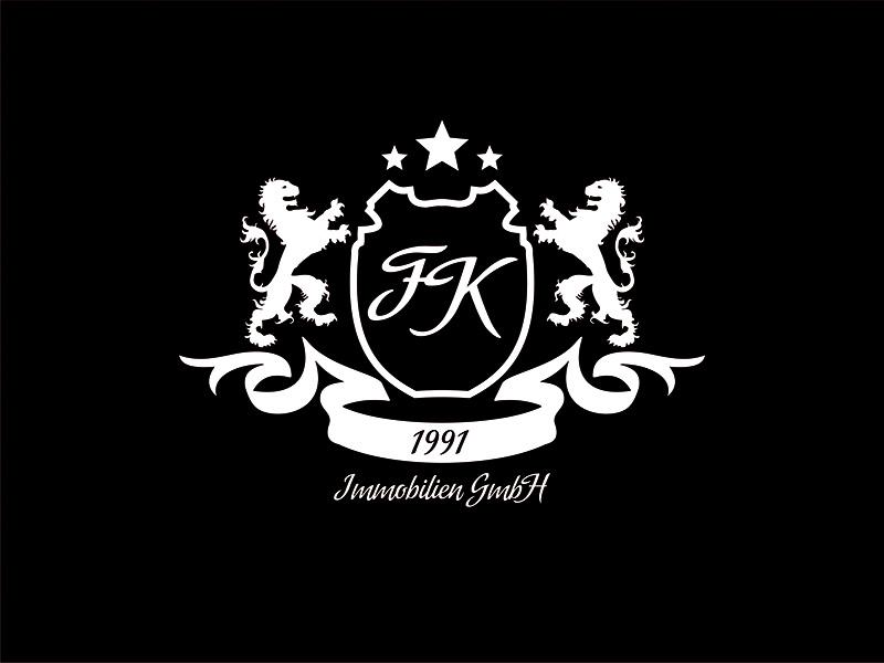 Logo for FK Immobilien Gmbh branddesigner graphicdesigner logodesigner graphicdesign design corporatestyle brandidentity branding identity logo logodesign