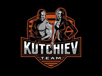 Logo for Kutchiev Team sportlogo creative art logos illustration corel typography vector designer branddesigner brandidentity logo logodesign logodesigner identity corporatestyle branding graphicdesign graphicdesigner design