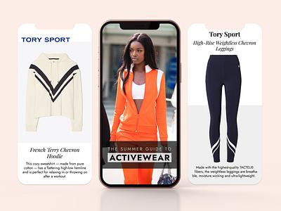 IG Story Design for Fashion Magazine branding social media ui graphic design design