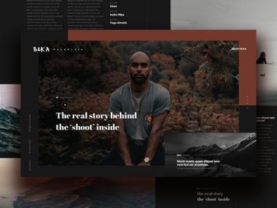 Balaklava Homepage Concept