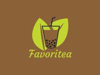 Logo 1 drinks milktea app logo design