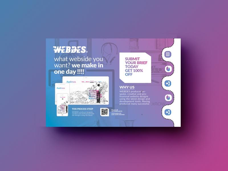 Postcard Template ios web lettering flat ux type branding app ui design logo illustration