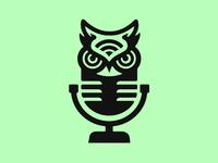The Night Owl Presents Logo