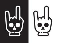 Skull Glove Logo