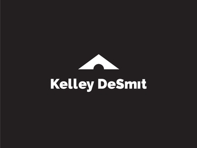 Kelley DeSmit landscape mark sun mountains photography outdoors vector logo