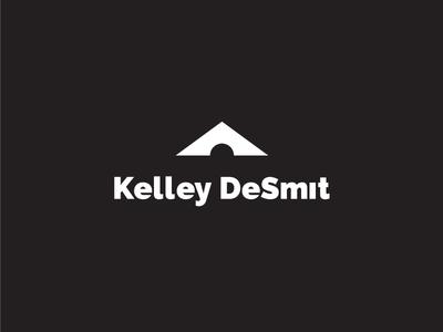 Kelley DeSmit landscape mark sun mountains photography outdoors vector logo