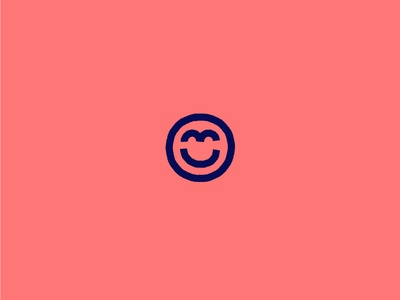 Happy Friday mark logo happy friday smile illustration