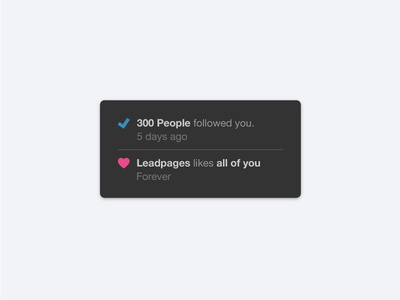 300 Followers thank you dribbble ui leadpages followers 300