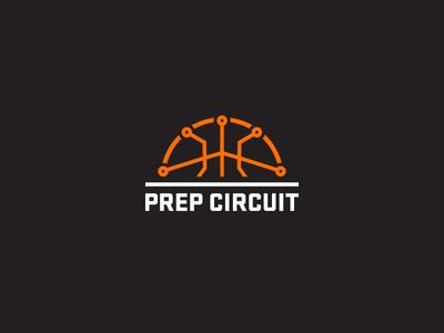 Prep Circuit circuit branding logo basketball