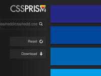 CSS Prism experimentation