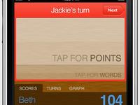 Webapp version of my Scrabble scorekeeper project