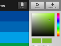 CSS Prism 1.x interface detail