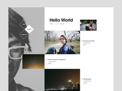 Hello World — Blog