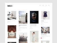 NO.1 — Tumblr Theme