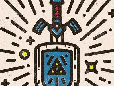 Master Sword & Hyrule Shield