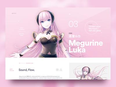 CV Series 03: Megurine Luka